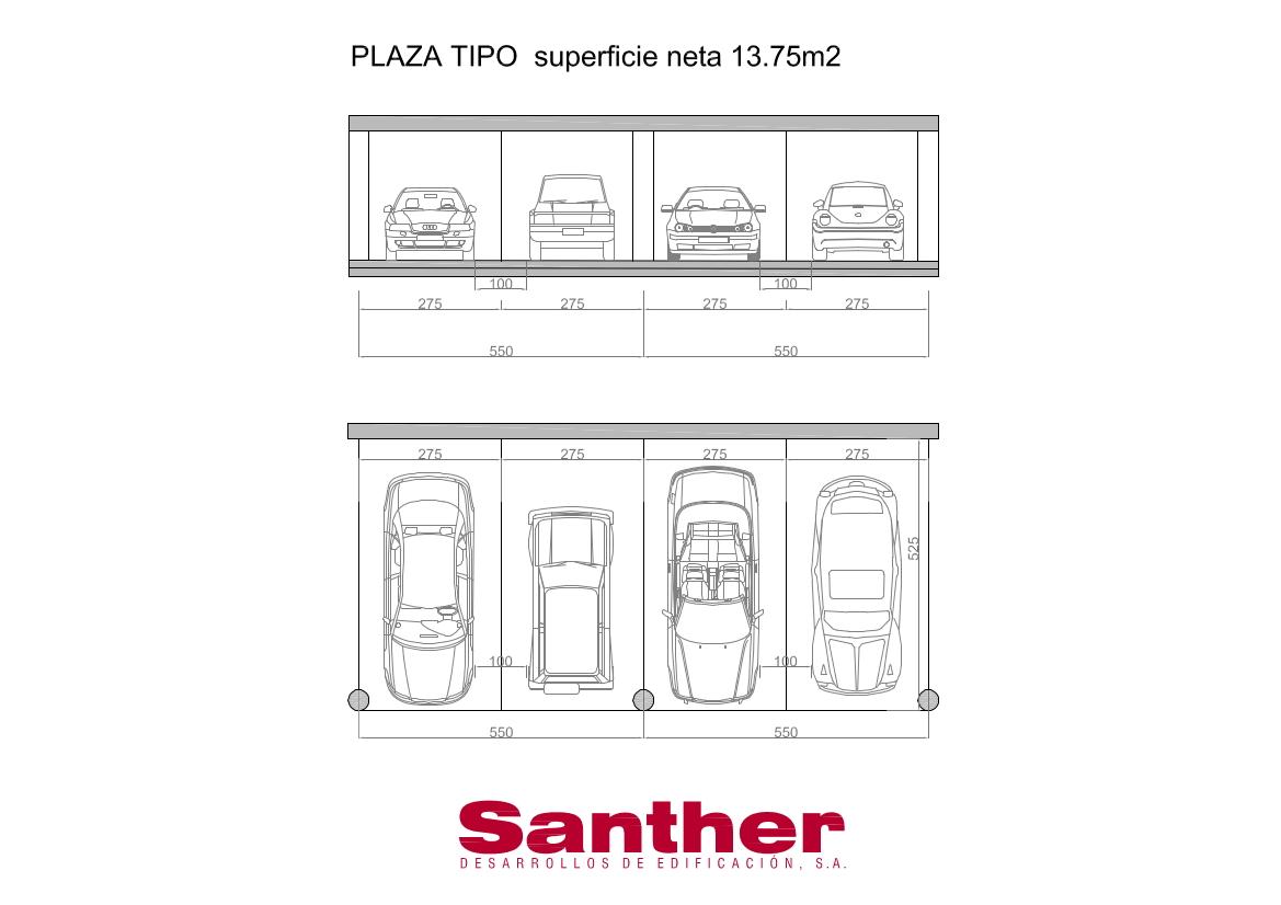 parking plaza garrido santher desarrollos de edificaci n